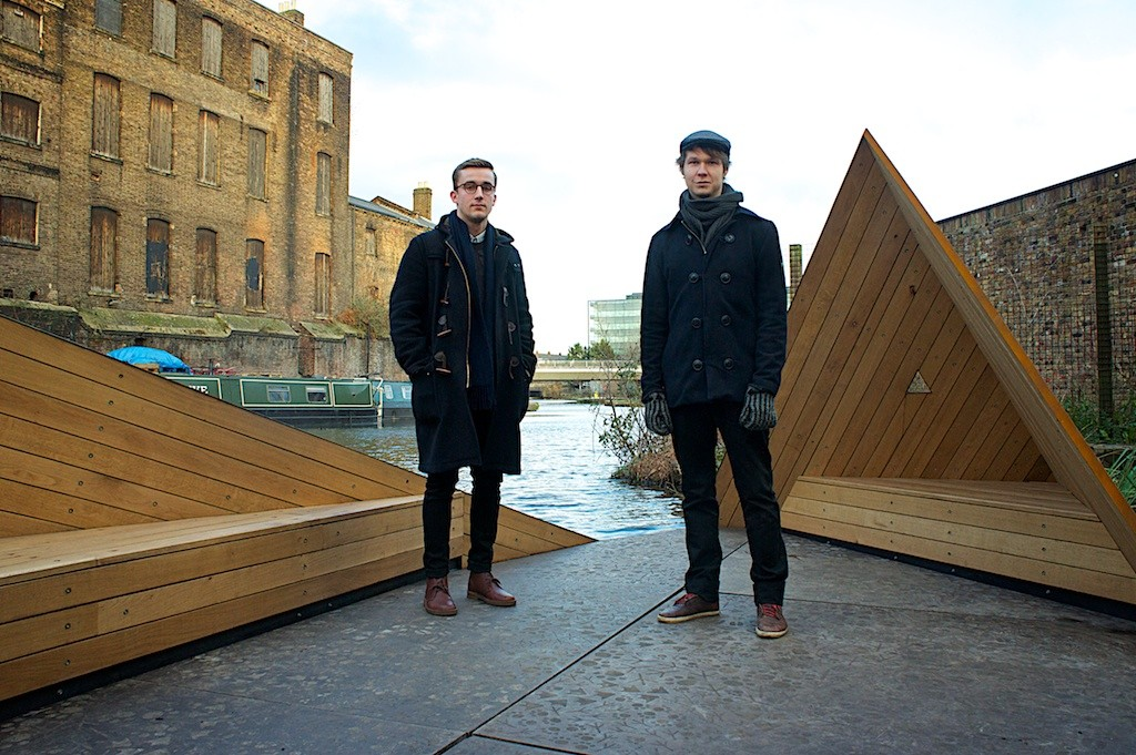AORarchitects at new jetty on Regent's Canel