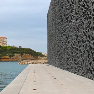 MuCEM and quayside