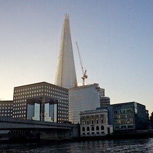 The Shard Towers over the Thames
