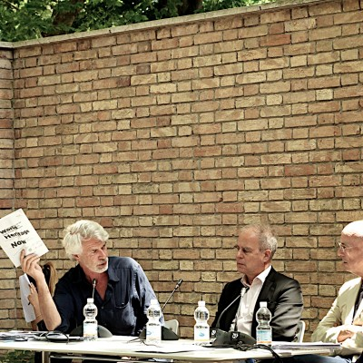 Discussion at Venice Biennale