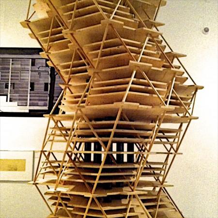 Louis Kahn exhibit at the Design Museum
