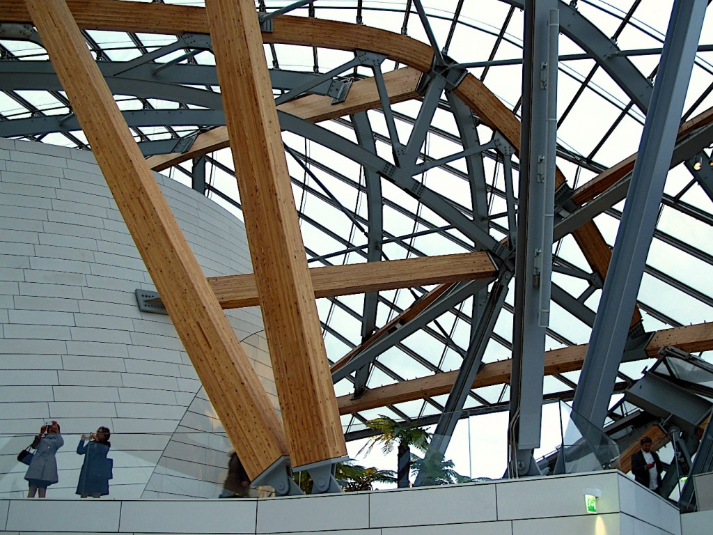 Fondation Louis Vuitton, Frank Gehry - interior