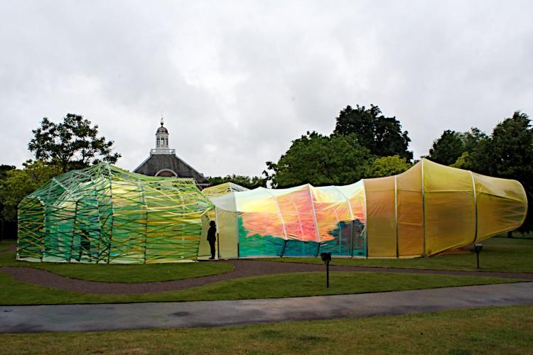 Serpentine Pavilion exterior