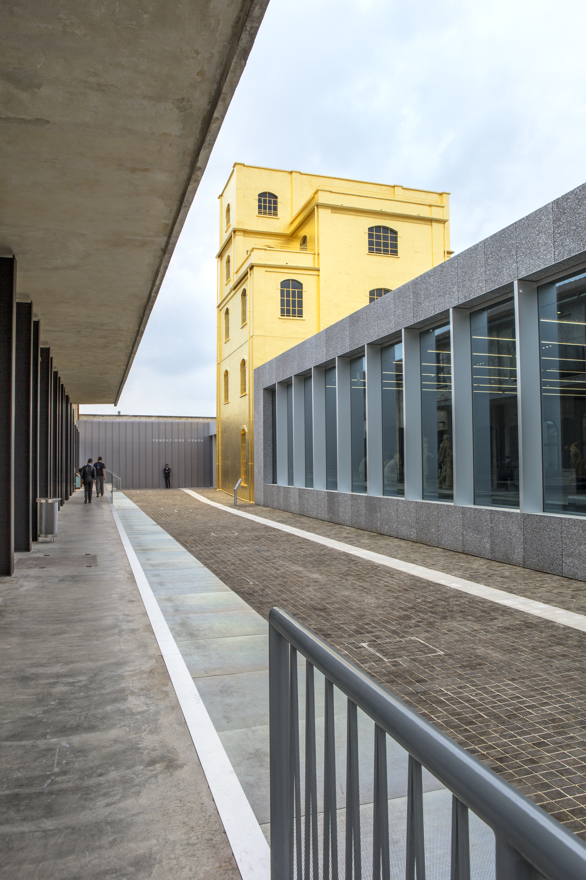 fondazione prada designed by rem koolhaas