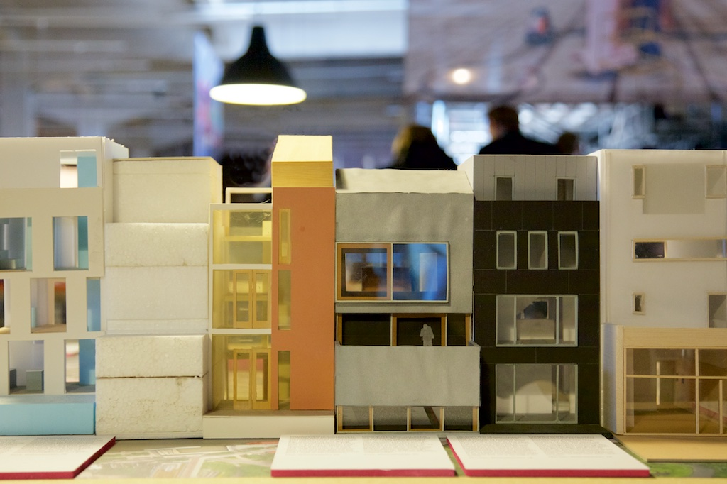 IABR 2016, architecture model of Walhallalaan
