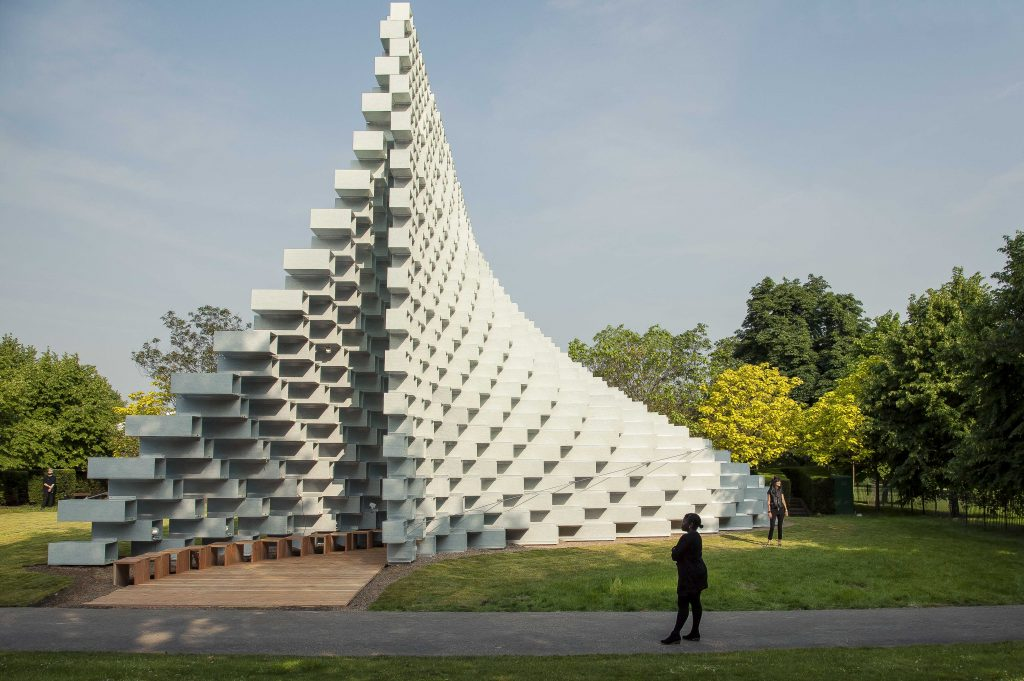 Serpentine Summer Pavilion 2016 by Bjarke Ingels, Kensington Gardens
