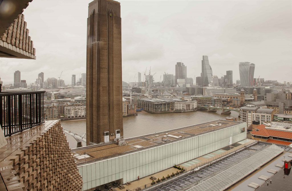 Tate Modern, SwitchHouse view