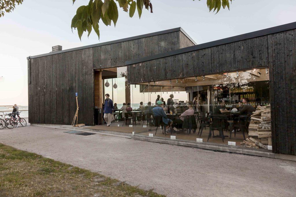 Summer cafe-bar Birgitta
