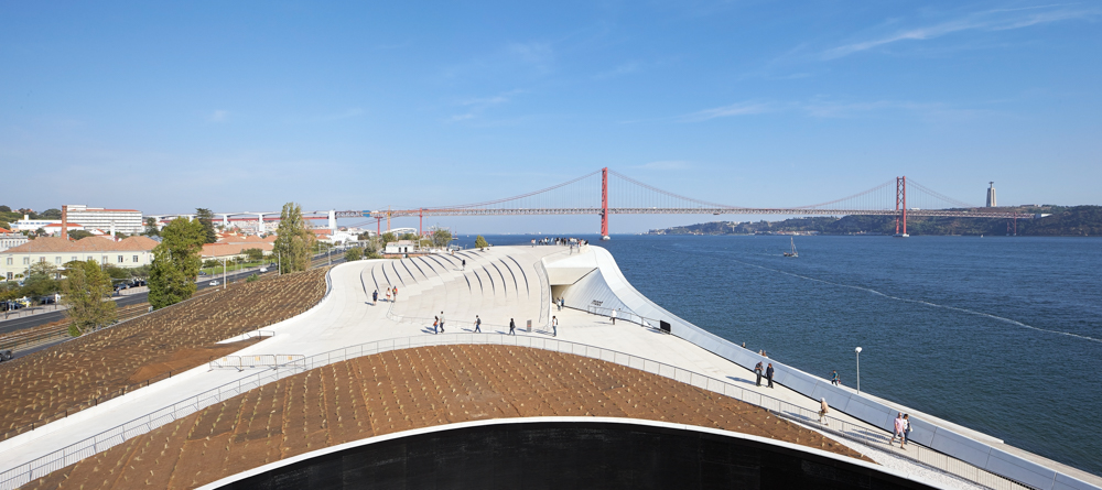 MAAT Museum, Lisbon, designed by AL_A Architects, photo ©Hufton+Crow