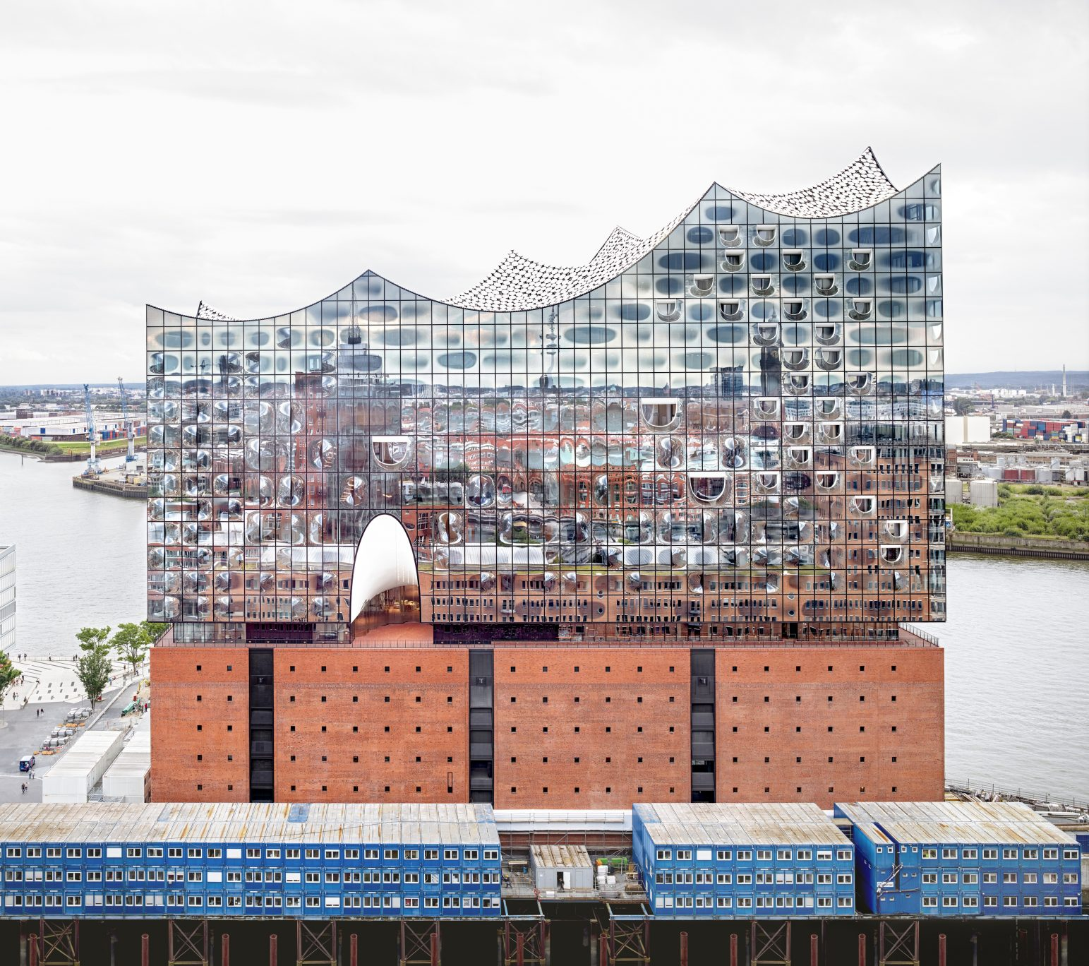 Elbphilharmonie Hamburg Herzog & de Meuron Hamburg 2016 © Candida Höfer / VG Bild Kunst, Bonn, 2016