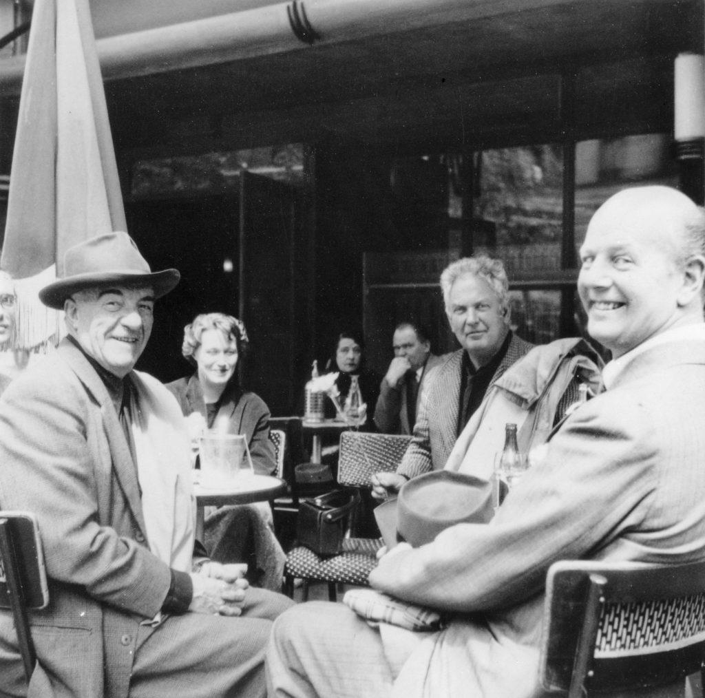Legér, Hanni Alanen (née Aalto), Calder and Jungstedt, 1940s