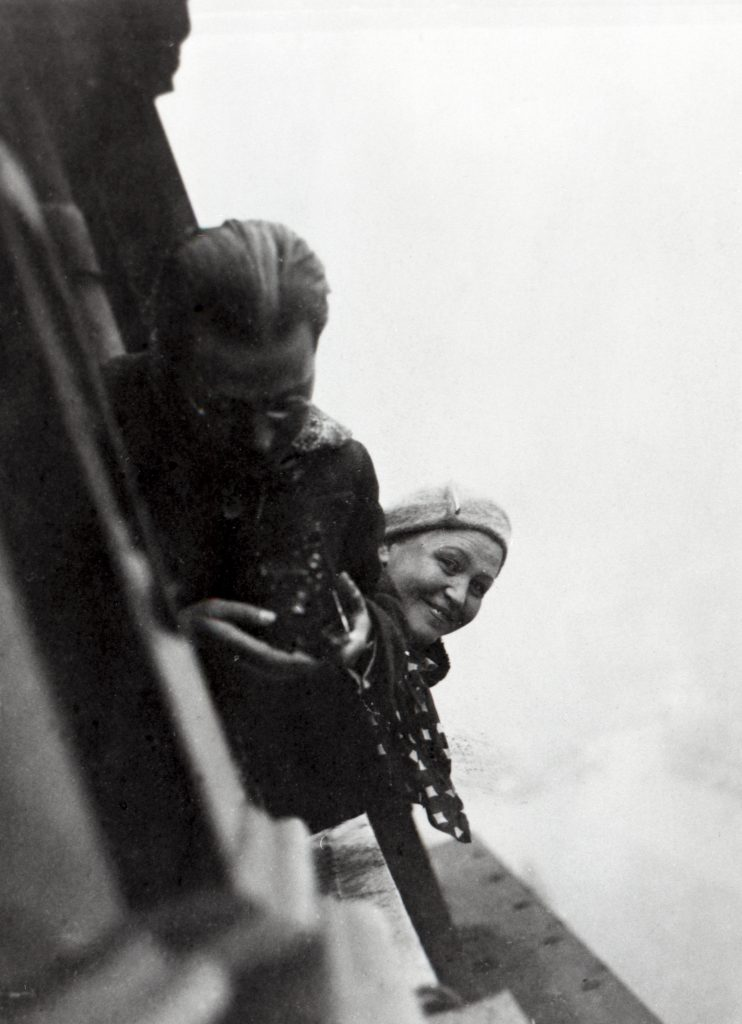 Aino Aalto and Laszlo Moholy-Nagy in London, 1933