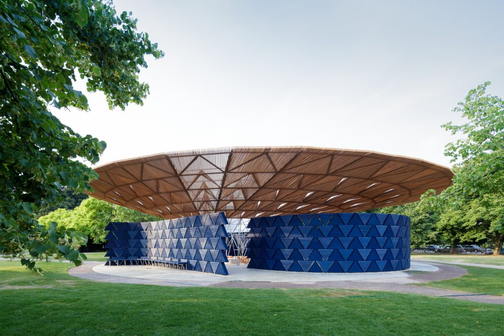 Serpentine Pavilion 2017 , designed by Francis Kéré, photo: ©IwanBaan
