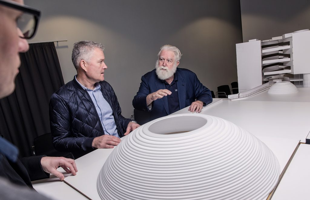 James Turrell at Aros Museum, photo ©Morten Fauerby