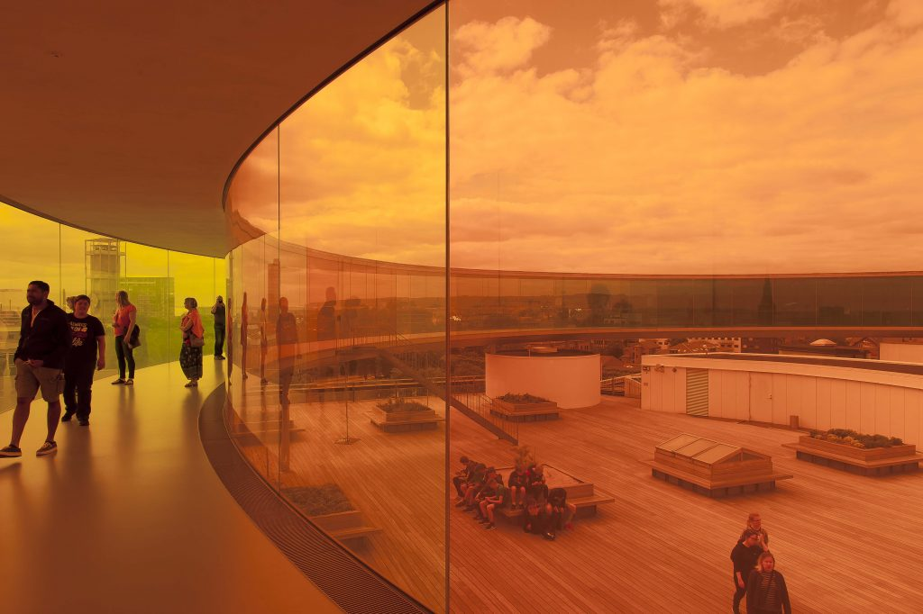Your Rainbow Panorama by Olafur Eliasson, ARoS Museum