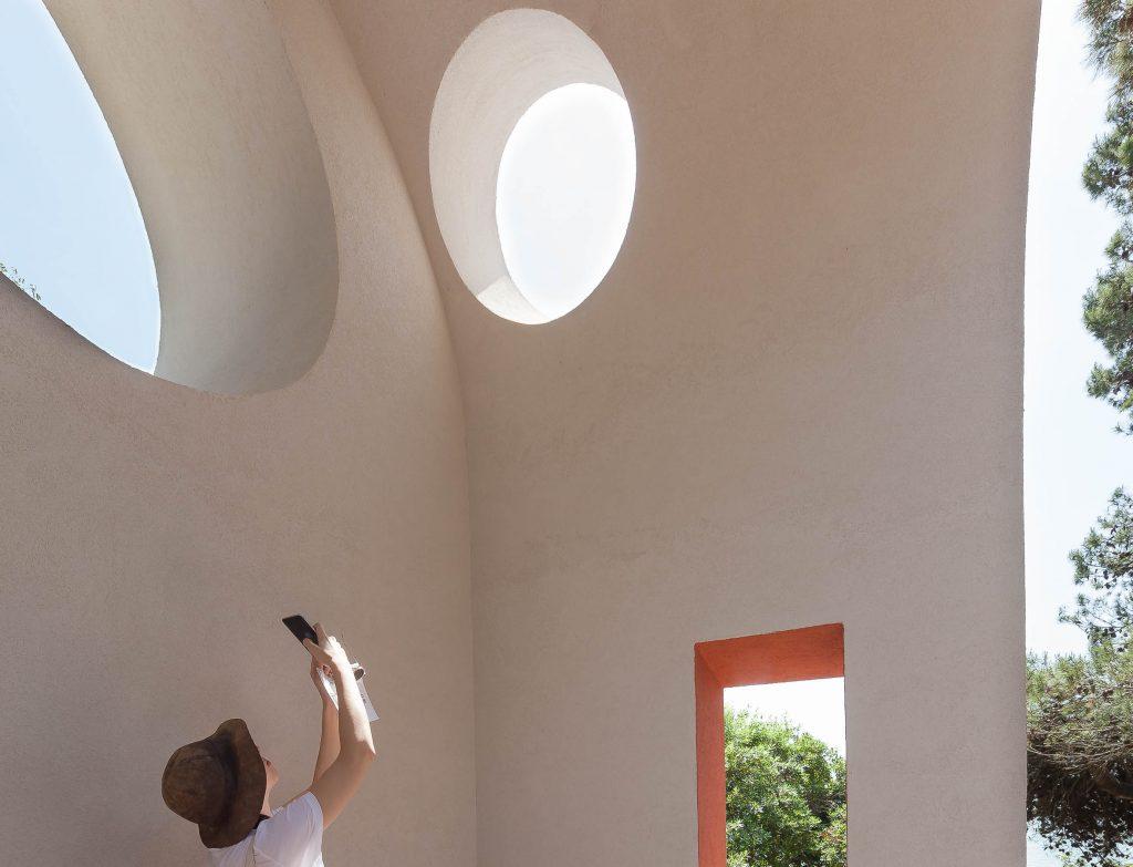 Chapel by Flores Prats, Venice Biennale 2018, Vatican Pavilions, photo © Marianna Wahlsten