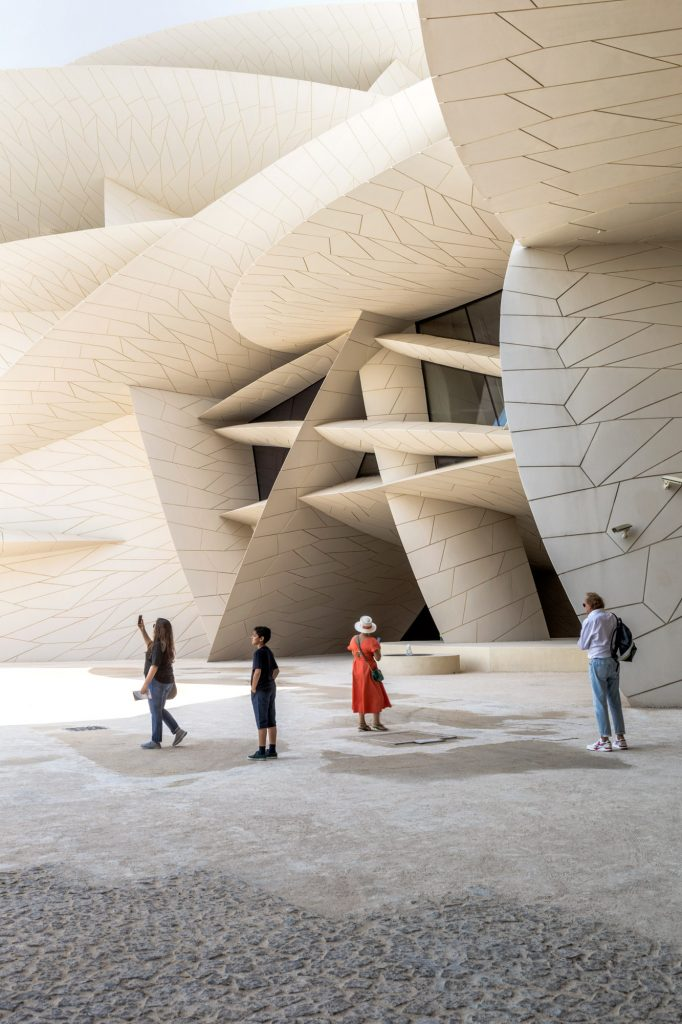 Jean Nouvel, National Museum of Qatar, Danica Kus