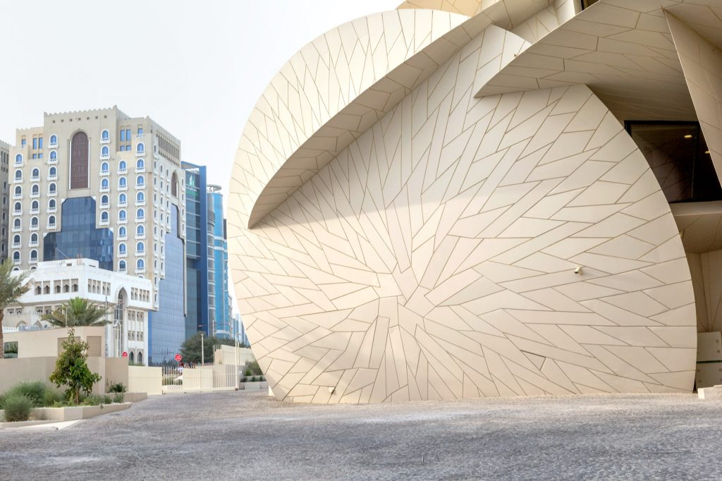 National Museum Qatar by Jean Nouvel, photo: Danica Kus
