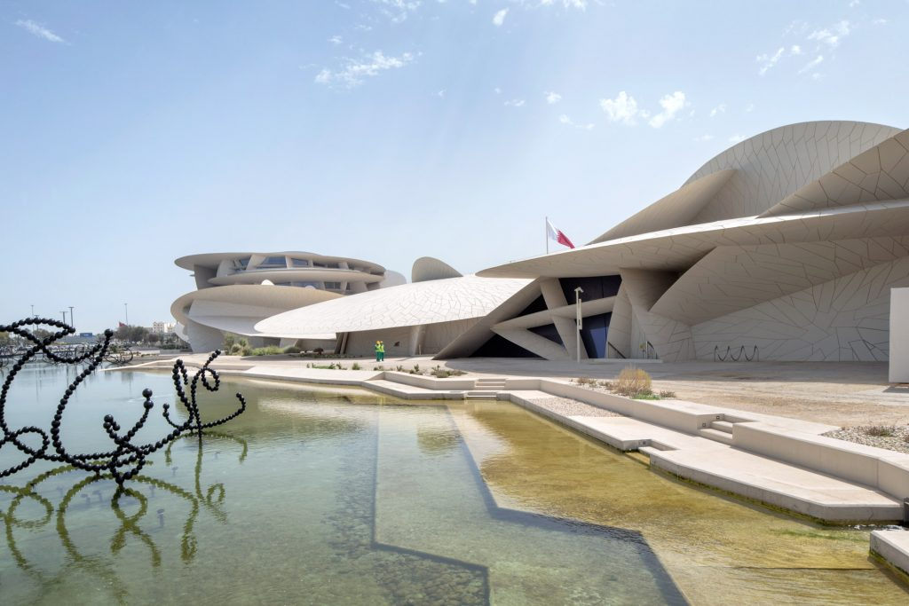 National Museum of Qatar, Doha, by Jean Nouvel, photo Danica Kus