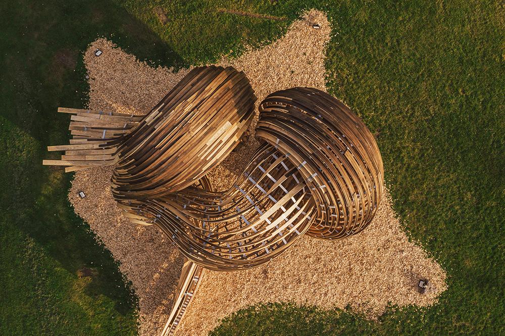 Steampunk installation, Tallinn Architecture Biennale 2019