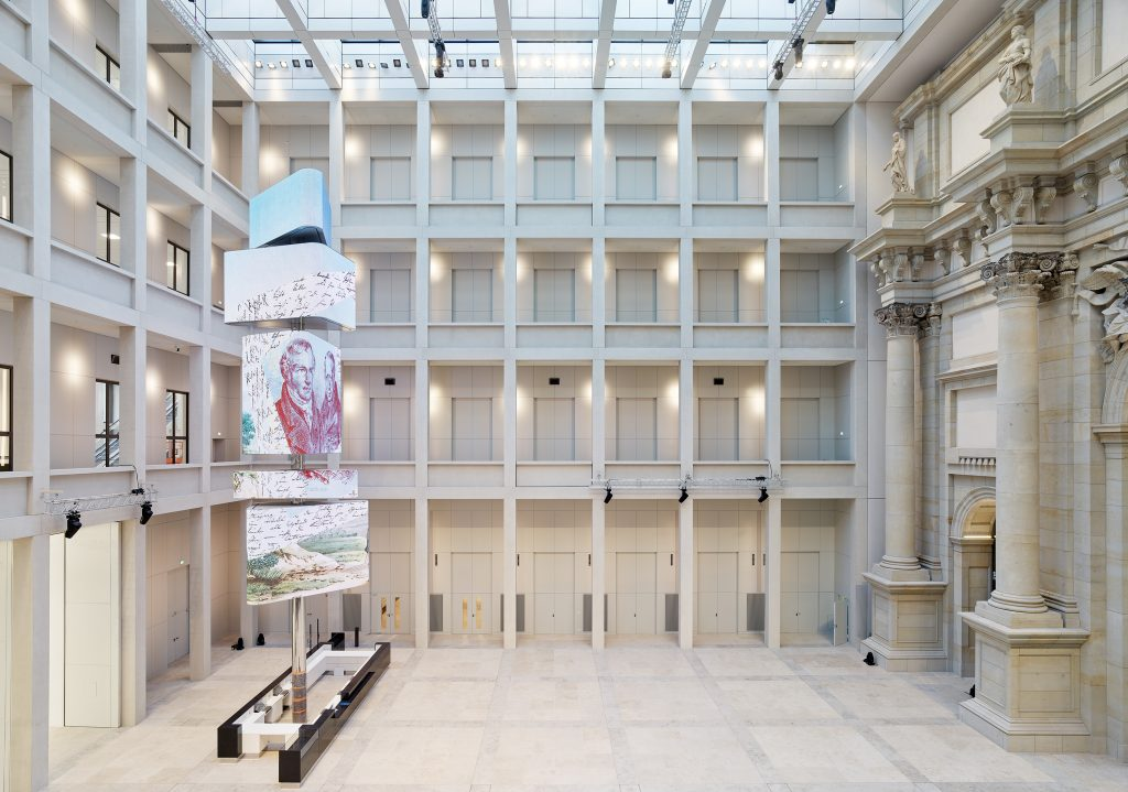 Humboldt Forum atrium, photo ©Alexander Schippel