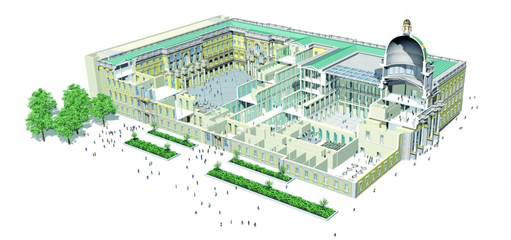 Humboldt Forum, ©SHF/Golden Section Graphics