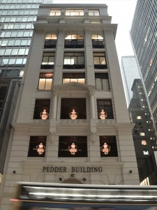 Pedder Building, home to leading galleries