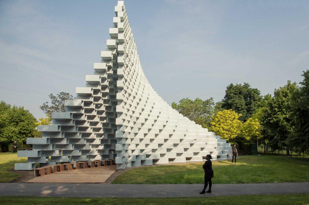 Serpentine Summer Pavilion 2016 by Bjarke Ingels, Kensington Gardens