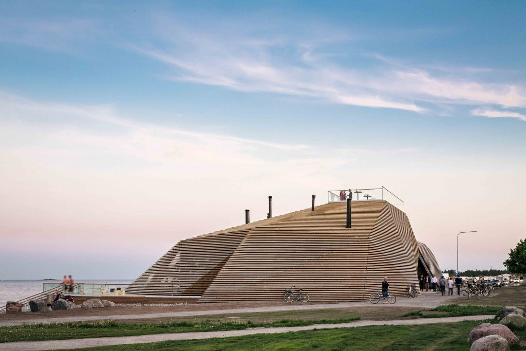 Löyly Sauna by Avanto Architects, photo ©Ḳuvio