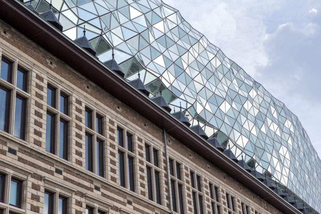 Port House in Antwerp, designed by Zaha Hadid Architects, photo ©Danica Kus