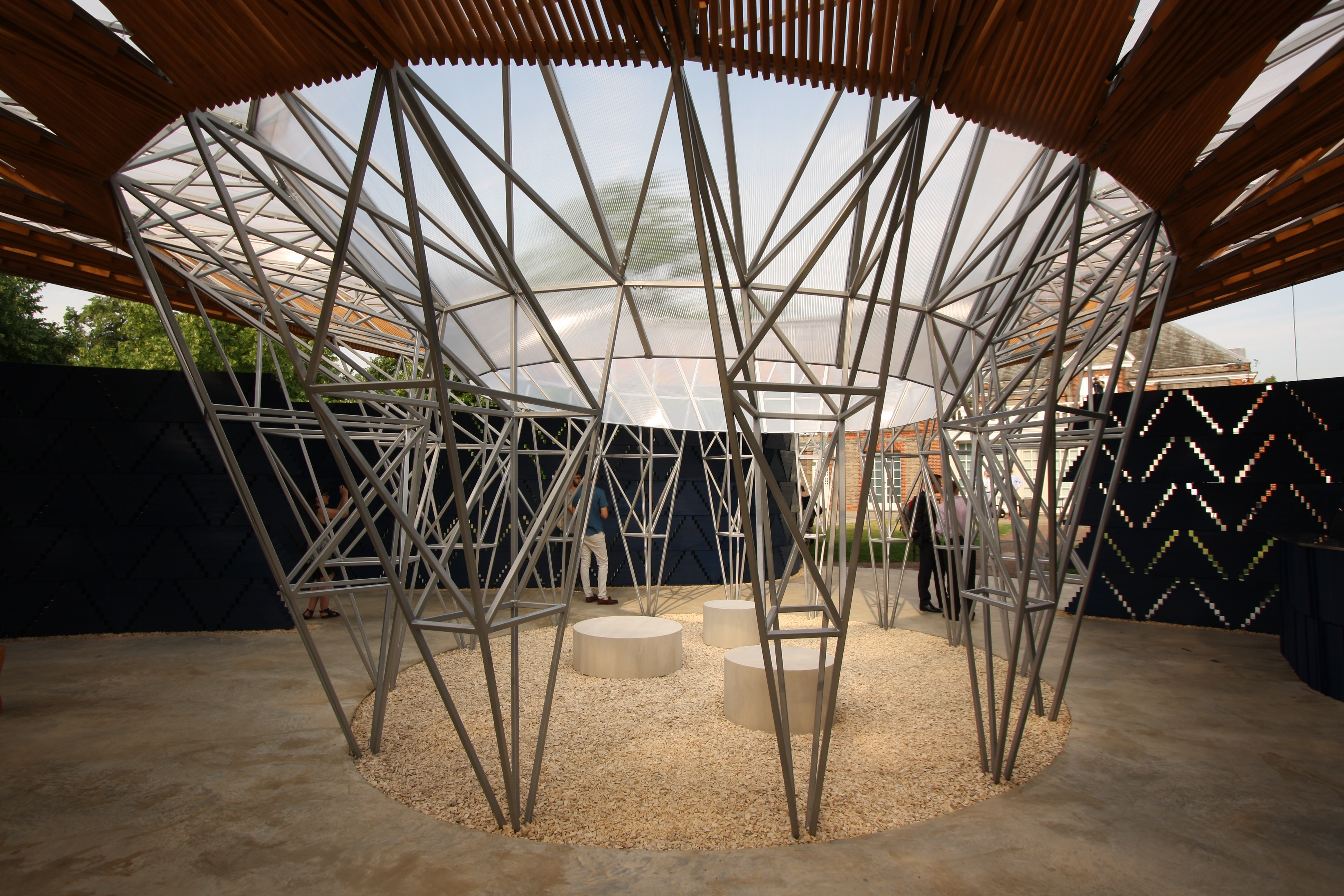 New Serpentine Pavilion By Francis K 233 R 233 Grand Tour